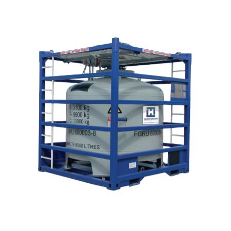 ACID TANK CONTAINER 6000 liter